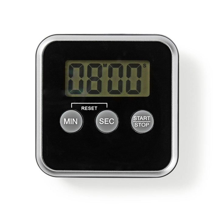 NEDIS KATR102BK Kitchen Timer Digital Display Black | ΜΙΚΡΟΣΥΣΚΕΥΕΣ / ΕΠΟΧΙΑΚΑ / ΛΕΥΚΕΣ ΣΥΣΚΕΥΕΣ | elabstore.gr