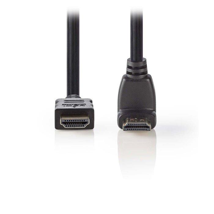 NEDIS CVGP34200BK15 High Speed HDMI Cable with Ethernet HDMI Connector-HDMI Conn   ΚΑΛΩΔΙΑ / ADAPTORS   elabstore.gr