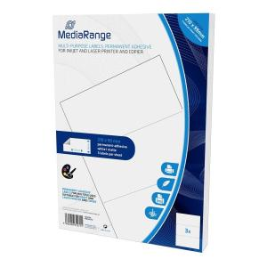 MEDIARANGE Ετικέτες πολλαπλών χρήσεων MRINK142, 210x99mm, 150τμχ   Αναλώσιμα - Είδη Γραφείου   elabstore.gr