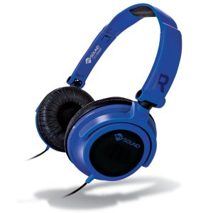 MELICONI MYSOUND SPEAK SMART FLUO BLUE-BLACK ON-EAR STEREO HEADSET (WITH MICROPH | SMARTPHONES & TABLETS ACCESSORIES | elabstore.gr