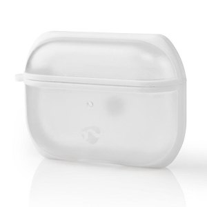 NEDIS APPROCE100TPWT AirPods Pro Case Transparent / White   SMARTPHONES & TABLETS ACCESSORIES   elabstore.gr