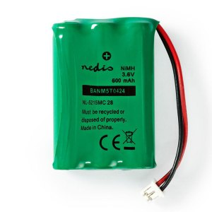 NEDIS BANM5T0424 Nickel-Metal Hydride Battery 3.6 V 600 mAh Wired Connector   ΜΠΑΤΑΡΙΕΣ / ENERGY   elabstore.gr