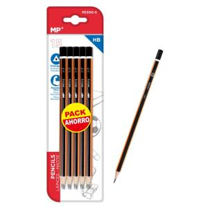 MP ξύλινο μολύβι PE300-3, τρίγωνο, HB, 15τμχ | Αναλώσιμα - Είδη Γραφείου | elabstore.gr