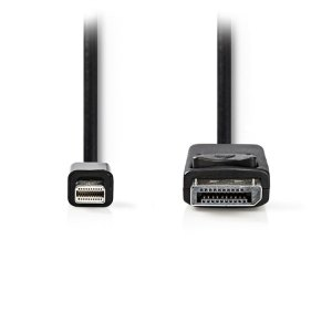 NEDIS CCGT37400BK20 Mini-DisplayPort - DisplayPort Cable Mini DisplayPort Male D | ΚΑΛΩΔΙΑ / ADAPTORS | elabstore.gr