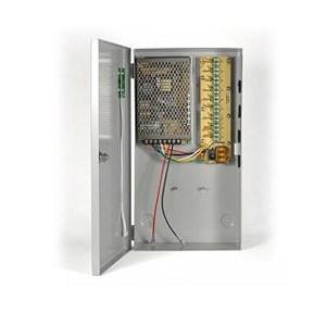 Τροφοδοτικό + Φορτιστής CCTV Κάμερας 12V 11.5A 9 εξόδους | ELABSTORE.GR