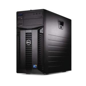 Refurbished Server DELL T310 Tower X3430/4GB DDR3/2x146GB/SAS6/iR/2xPSU/DVD | ELABSTORE.GR