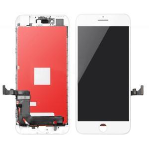 TW INCELL LCD για iPhone 8 Plus, camera-sensor ring, earmesh, λευκή | Service | elabstore.gr