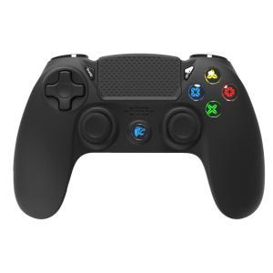 ROAR ασύρματο gamepad R300WB, με vibration, bluetooth, για PS4 | Συνοδευτικά PC | elabstore.gr