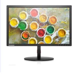 """Used Monitor T2324p LED/Lenovo/23""""/1920x1080/wide/Black/D-SUB & HDMI & Display Port & USB HUB   ELABSTORE.GR"""