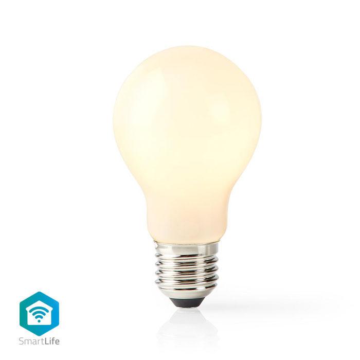 NEDIS WIFILF11WTA60 Wi-Fi Smart LED Bulb E27 A60 5 W 500 lm White   ΔΙΚΤΥΑΚΑ / SMART HOME   elabstore.gr