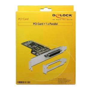 DELOCK Κάρτα Επέκτασης PCI σε Παράλληλη θύρα DB25 Female   PC & Αναβάθμιση   elabstore.gr