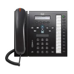 CISCO used Unified IP Phone 6961, POE, Dark Gray | Εξοπλισμός IT | elabstore.gr