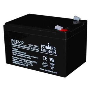 POWER KINGDOM μπαταρία μολύβδου PS12-12, 12Volt 12Ah | Τροφοδοσία Ρεύματος | elabstore.gr
