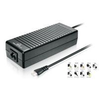 POWERTECH φορτιστής laptop PT-373, Universal, 120 watt, 9 tips   Αξεσουάρ για Laptop   elabstore.gr