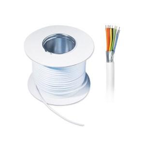 Καλώδιο Συν. Θωρ.4Χ0,22MM2+Al Foil+Drain 100M Wire   Καλώδια Συστημ.Ασφαλείας   elabstore.gr