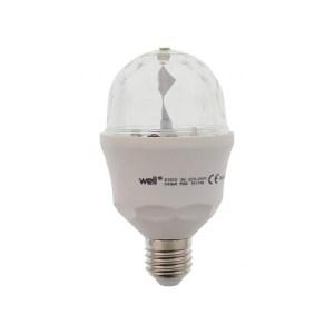 Λάμπα Disco LED E27 3W RGB Well LEDLRGBN-DISCO3E27-WL | Φωτισμός | elabstore.gr