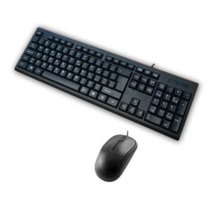 Σετ Πληκτρολόγιο - Ποντίκι Ενσύρματο USB SP-5500 | Περιφερειακά | elabstore.gr