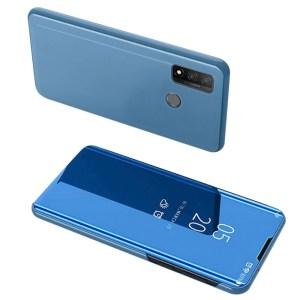 POWERTECH θήκη Clear view MOB-1516, Huawei P Smart 2020, μπλε   Αξεσουάρ κινητών   elabstore.gr
