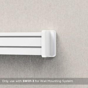 BRATECK 2x βάσεις στήριξης πάνελ SW02-4, SW series, για τοίχο | Αναλώσιμα - Είδη Γραφείου | elabstore.gr