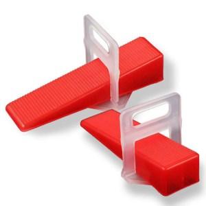 Κλιπ τοποθέτησης πλακιδίων TOOL-0028, 1.0mm, 100τμχ | Εργαλεία | elabstore.gr