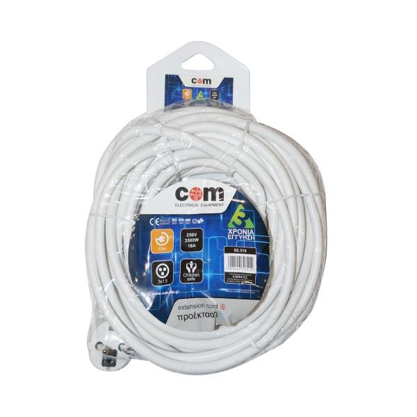 Προέκταση Πρίζας 5M Σούκο 3Χ1,5mm COM | Ηλεκτρολογικά | elabstore.gr