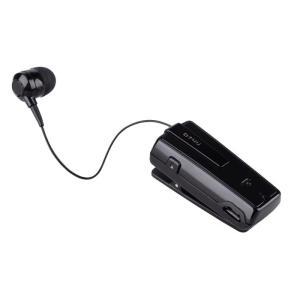 Retractable Bluetooth Headset BT4U Black UA-33XB-V | MOBILE COMPONENTS | elabstore.gr