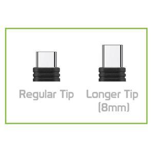 POWERTECH καλώδιο USB σε USB Type-C CAB-U130, 8mm tip, 1.5m, μαύρο-γκρι | Αξεσουάρ κινητών | elabstore.gr