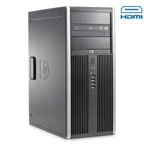 HP 8100 Tower i7-860/4GB DDR3/500GB/Κάρτα Γραφικών/DVD/7P Grade A Refurbished PC | Refurbished | elabstore.gr
