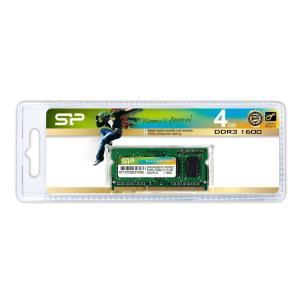 SILICON POWER Μνήμη DDR3 SODimm, 4GB, 1600MHz, PC3-12800, CL11 | PC & Αναβάθμιση | elabstore.gr