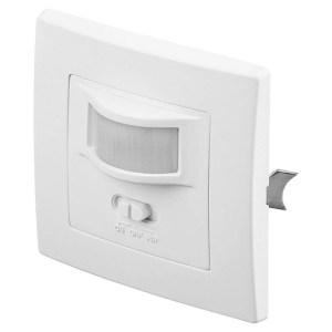 96005 PIR motion sensor flush-mounted wall mounting 160° detection 9m range indo | SECURITY | elabstore.gr