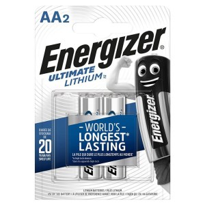 ENERGIZER ULTIMATE LITHiUM 2A BATTERY | ΜΠΑΤΑΡΙΕΣ / ENERGY | elabstore.gr