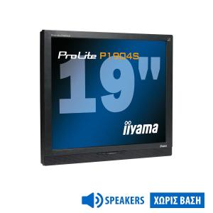 """Used Monitor P1904S TFT/Iiyama/19""""/1280x1024/Black/No Stand/With Speakers/DVI-D & D-SUB 