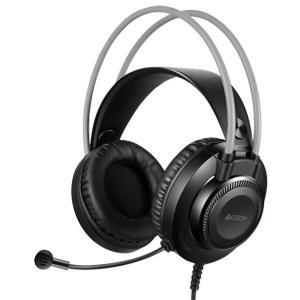 A4TECH Headset FH200U, USB, 50mm ακουστικά, DSP stereo, μαύρα   Συνοδευτικά PC   elabstore.gr