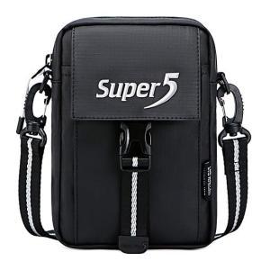 SUPER FIVE τσάντα ώμου K00122-BK, μαύρη | Οικιακές & Προσωπικές Συσκευές | elabstore.gr
