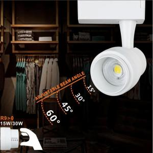 LIPER LED track light LPTRL-15E02, IP20, 15W 4000K, μεταλλικό, λευκό   Φωτισμός   elabstore.gr