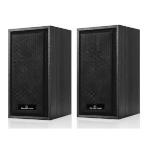 POWERTECH ηχεία Premium sound PT-845, 2x 3W, 3.5mm, μαύρα   Συνοδευτικά PC   elabstore.gr