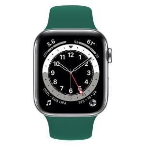 ROCKROSE band σιλικόνης Rough Jade για Apple Watch 42/44mm, πράσινο | Mobile Συσκευές | elabstore.gr
