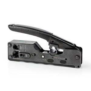 NEDIS CCGG89505BK Crimp pliers CAT5 / CAT5e / CAT6 / CAT6a / CAT7 / RJ11 / RJ12   ΔΙΚΤΥΑΚΑ / SMART HOME   elabstore.gr