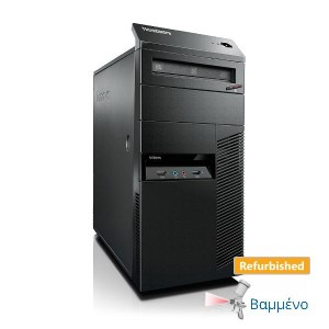 Lenovo M81 Tower i5-2400/4GB DDR3/250GB/DVD/7P Grade A+ Refurbished PC   Refurbished   elabstore.gr