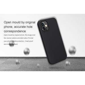 NILLKIN θήκη Flex Pure για Apple iPhone 12/12 Pro, μαύρη | Αξεσουάρ κινητών | elabstore.gr