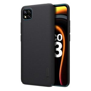 NILLKIN θήκη Super Frost Shield για Xiaomi Poco C3, μαύρη | Αξεσουάρ κινητών | elabstore.gr