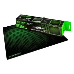 ESPERANZA gaming mouse pad Grunge EA146G, 440x354x4mm, μαύρο-πράσινο   Συνοδευτικά PC   elabstore.gr