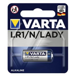 VARTA αλκαλική μπαταρία LADY LR1 N, 1.5V, 1τμχ | Μπαταρίες | elabstore.gr