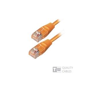 UTP CAT-5 0,5m ORANGE   Δικτυακά & Τηλεφωνίας   elabstore.gr