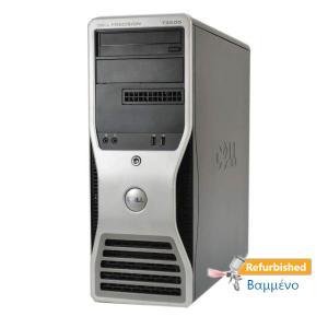 DELL T3500 Tower Xeon-W3520(4-Cores)/8GB DDR3/500GB/Κάρτα γραφικών/DVD/7P Grade A+ Workstation Refur | Refurbished | elabstore.gr
