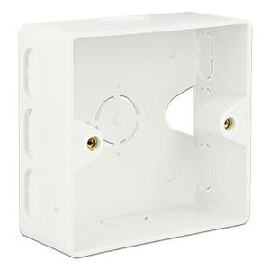 DELOCK οπίσθιο κουτί για Keystone πρίζα τοίχου 86128, λευκό   Εργαλεία   elabstore.gr