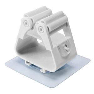 Βάση συγκράτησης αντικειμένων CLN-0026, λευκή, 2τμχ | Οικιακές & Προσωπικές Συσκευές | elabstore.gr