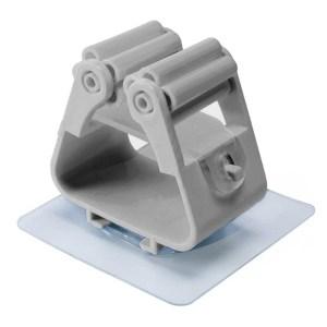 Βάση συγκράτησης αντικειμένων CLN-0027, γκρι, 2τμχ | Οικιακές & Προσωπικές Συσκευές | elabstore.gr