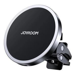 JOYROOM ασύρματος φορτιστής και βάση αυτοκινήτου JR-ZS240, 15W, μαύρος   Αξεσουάρ κινητών   elabstore.gr