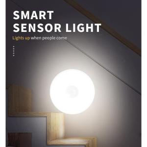 Φωτιστικό τοίχου LED YET6133, με αισθητήρα κίνησης PIR, 0.15W, λευκό | Φωτισμός | elabstore.gr